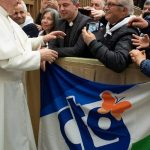 Gruppo CTG visita Papa